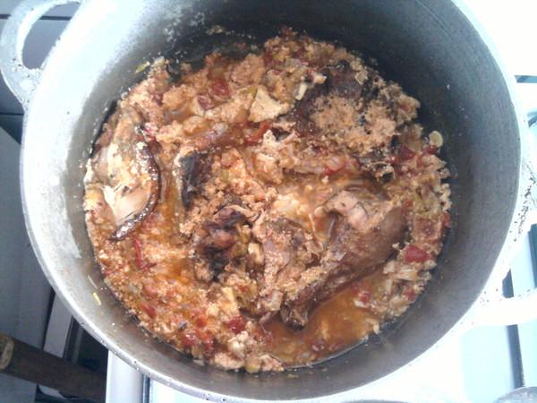 sauce pistache au poulet fum 233